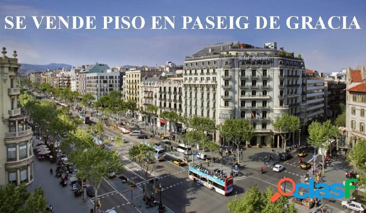 PISO EN BARCELONA. PASEO DE GRACIA