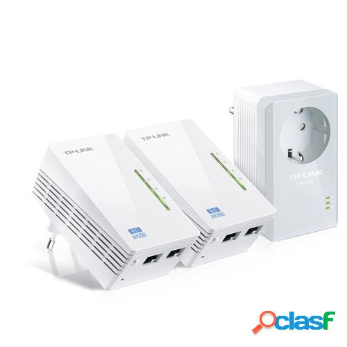 Plc tp-link tl-wpa4226t kit av500 wifi range extender,