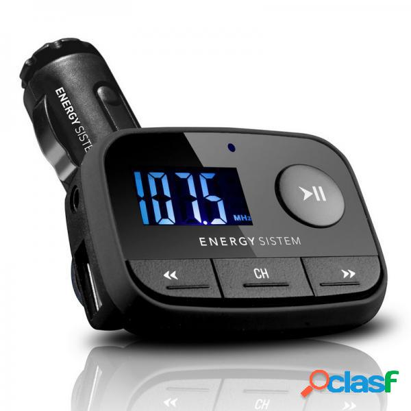 Reproductor mp3 energy car mp3 f2 black knight