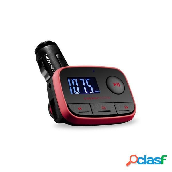 Reproductor mp3 energy car mp3 f2 racing red