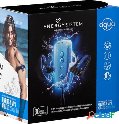 Reproductor mp3 energy sistem aquatic 2 deep blue con