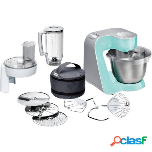 Robot de cocina bosch mum58020 1000w verde menta