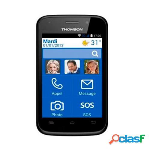 Telefono movil thomson serea 400 libre negro