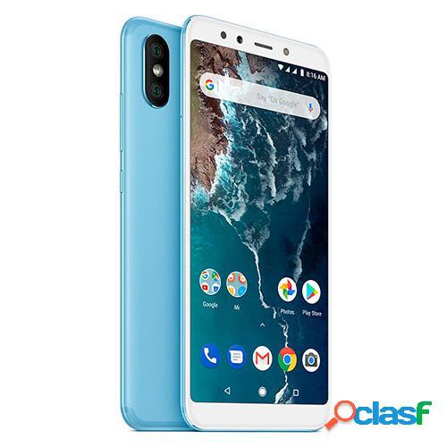 Telefono movil xiaomi mi a2 4+64gb libre azul