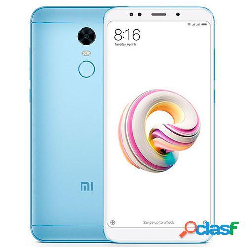Telefono movil xiaomi redmi 5 plus 4g 3+32gb azul global