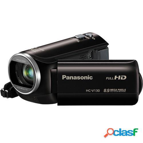 "Videocamara panasonic hc-v130ec-k negra 2mp 2,7"" 32mm"