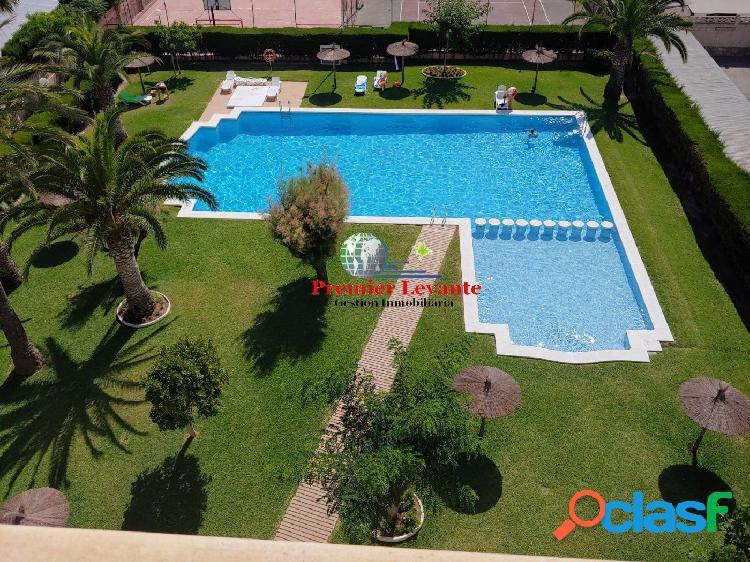 Vivienda en Playa San Juan, 2 hab y 1 baño, amueblada y