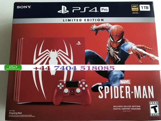 Sony Playstation 4 PRO 1TB CON 10 JUEGOS GRATIS Spider Man
