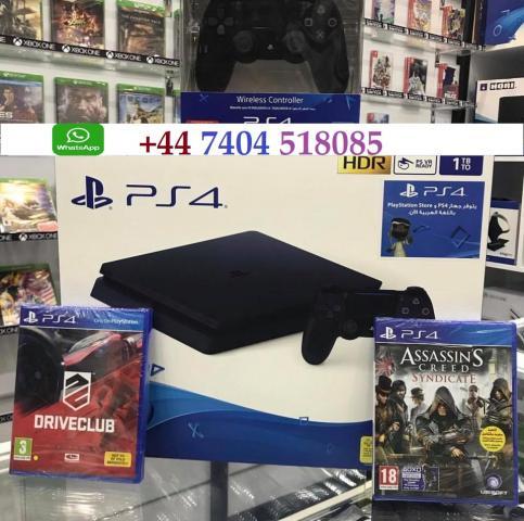 Sony Playstation 4 Silm 1TB CON 10 JUEGOS GRATIS