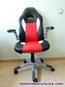 Silla de oficina deportiva tipo silla ejecutiva modo