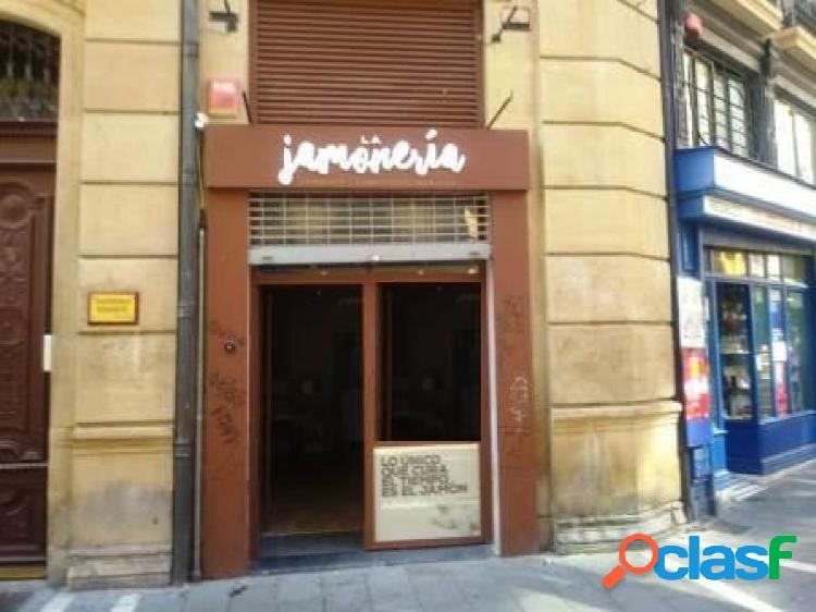 Pamplona. Alquiler de fantástico local comercial en Casco