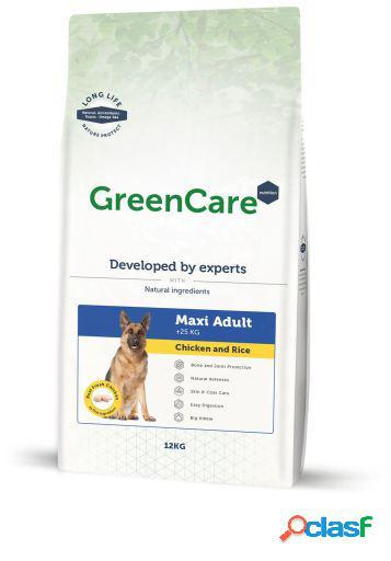 GreenCare Nutrition Adult Maxi Pollo y Arroz 12 KG