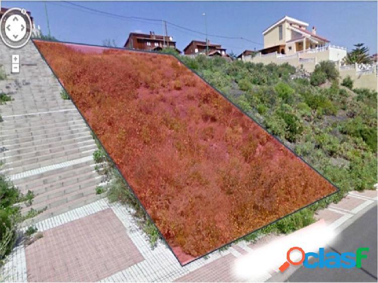 Las Mesas. Solar urbano de 660 m2.