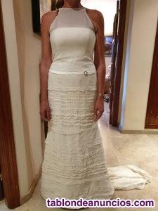 Vendo precioso traje de novia, moderno