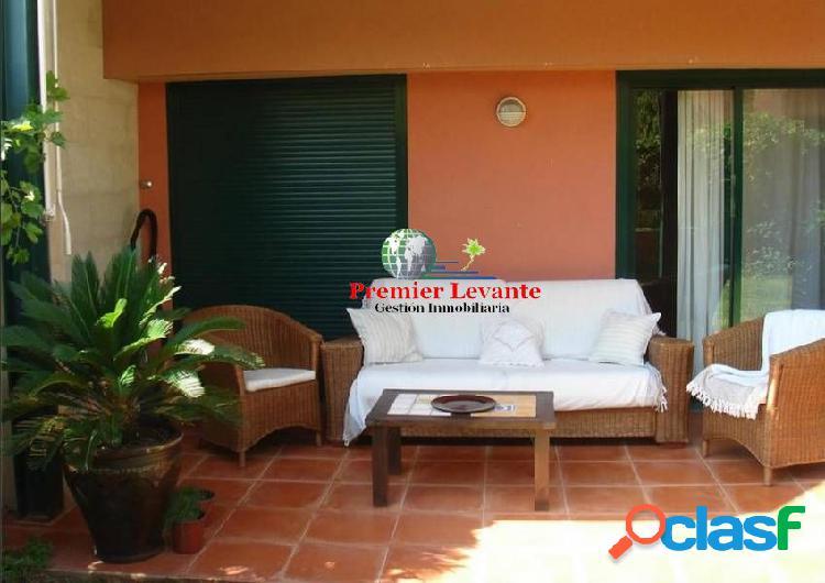 Vivienda en Playa San Juan, 3 hab y 2 baños, amueblada y