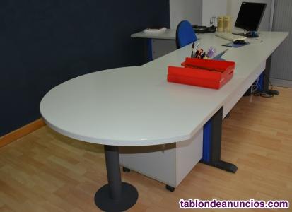 Mesa oficina & gavetero con llave