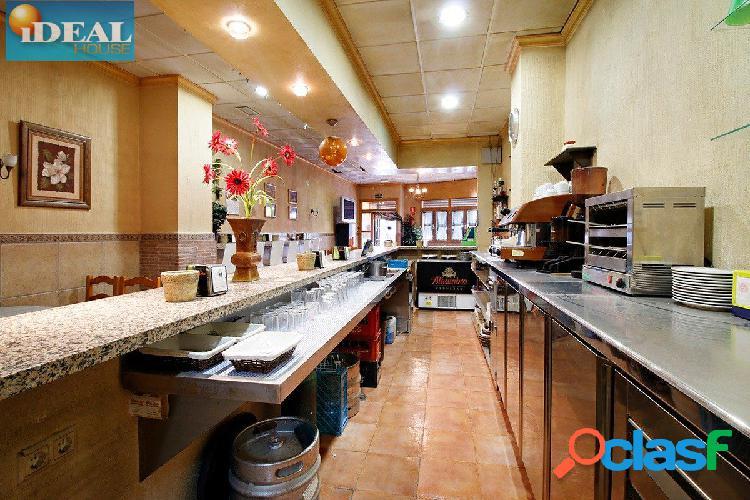 A5163J1. Bar Restaurante totalmente instalado en venta.