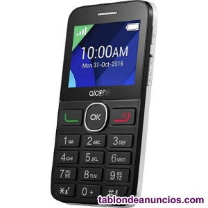 Alcatel g telefono movil 2.4 qqvga bt blanco