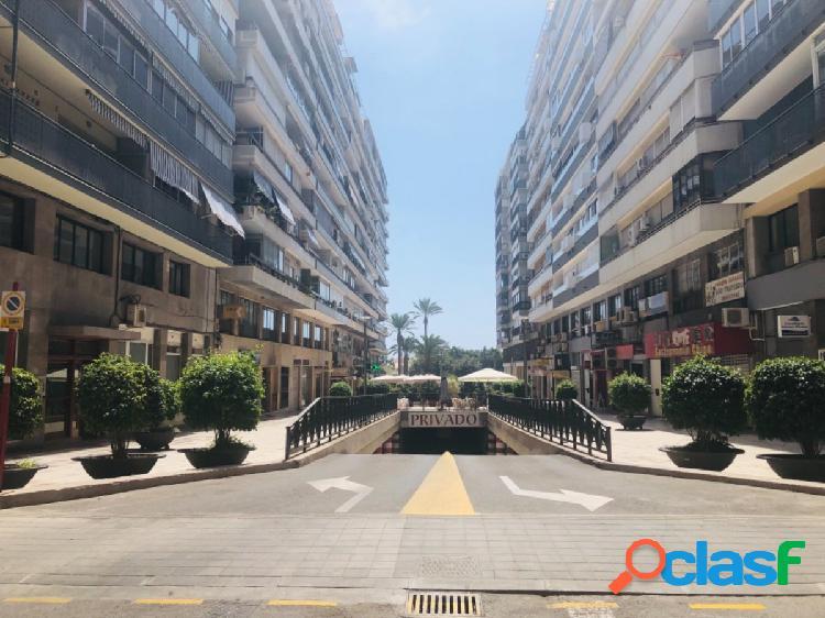Altamar vende plaza de garaje en el centro de Alicante -
