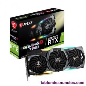 Msi geforce rtx  super gaming x trio nueva