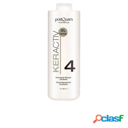 POSTQUAM HAIRCARE KERACTIV reconstructor shampoo with