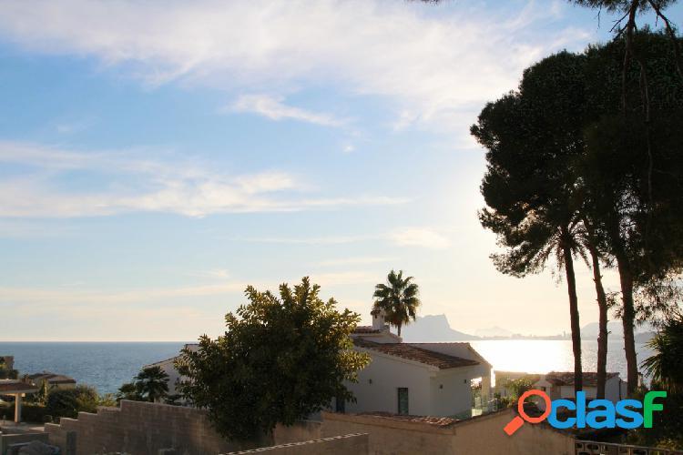 Parcela en venta con vistas al Mar en El Portet – Moraira