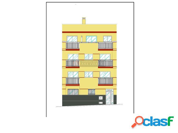 Promoción de viviendas en construcción en la zona de Las