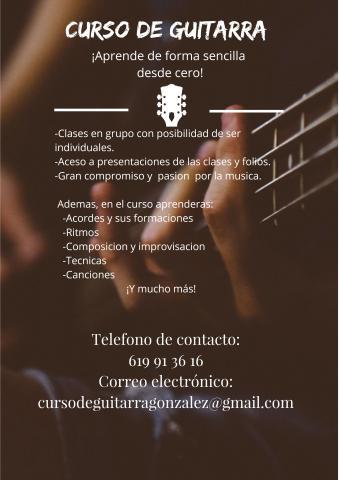 curso de guitarra acustica y electrica
