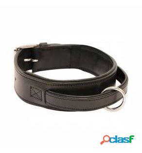 Arppe Collar Cuero Alkiza para Perro de Color Negro