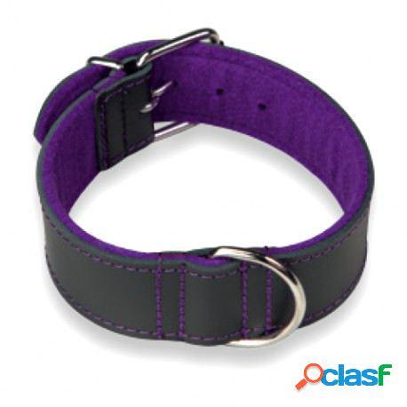 Arppe Collar Cuero Choppers Negro/Púrpura Diferentes Tallas
