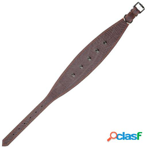Arppe Collar Galgo Fornitura Piel Caramelo / Marrón Oscuro
