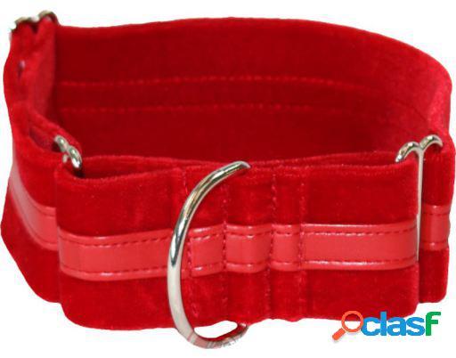 Arppe Collar Galgo Regulable Ascott Negro/Verde Rojo