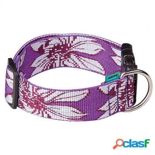 Arppe Collar Regulable Nylon Hawai Amarillo Morado