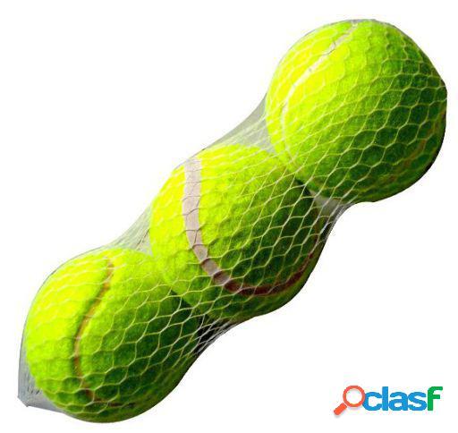 Arppe Pack 3 Pelotas Tenis para Mascotas
