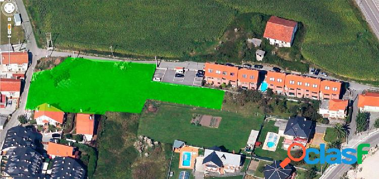Venta de parcela urbana en Boo de Piélagos 420.000€