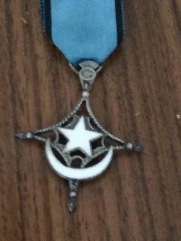 Medallas militares auténtica
