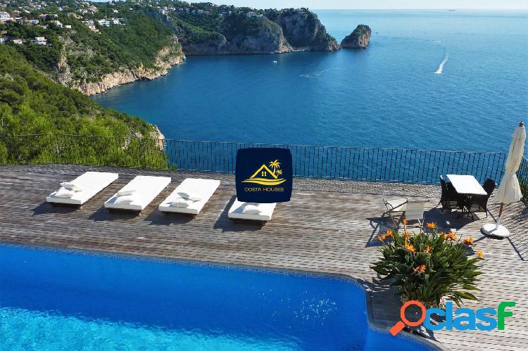 Villa Ibicenca en Javea con Vistas al Mar · GRANADELLA  