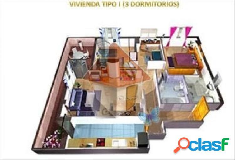 VENTA DE PISO DE 3 DORMITORIOS EN PAU EL QUIÑON - FASE I