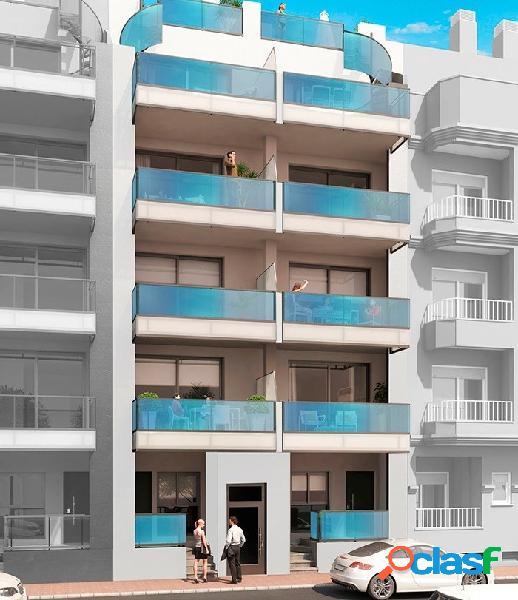 Apartamento a 200 metros de la playa en el centro de