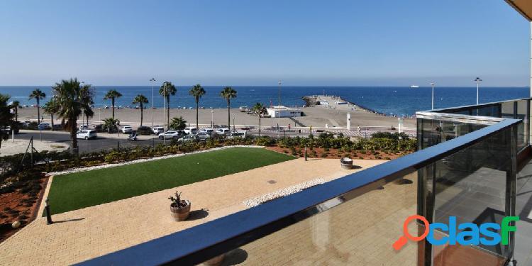 Fantastica vivienda en primera linea de playa
