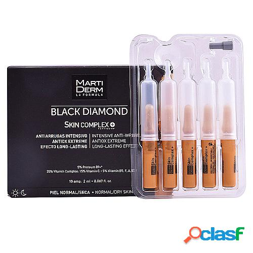 MARTIDERM BLACK DIAMOND intensive anti-wrinkle ampoules 10 x