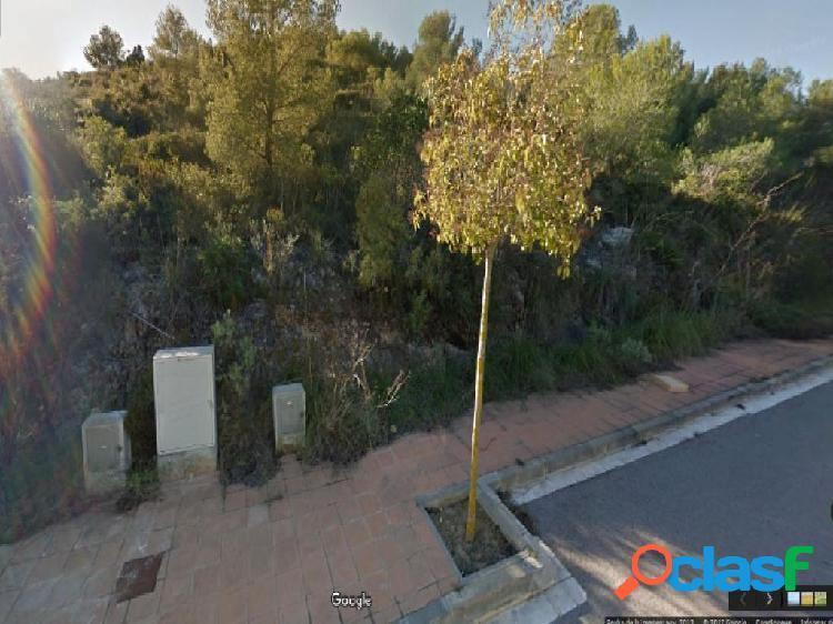 Parcela en venta en Sitges en la zona Mas Alba, a 5 minutos