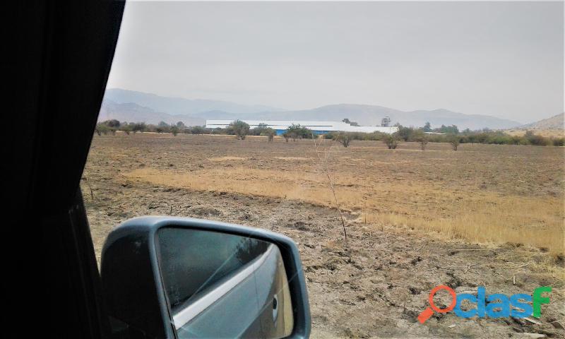 Se vende terreno de 5 hectáreas de zona industrial