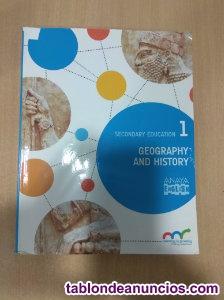 Libros de geography and hystory 1º eso anaya