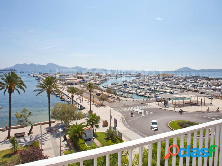Apartamento con impresionantes vistas en Puerto de Pollensa