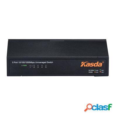 Kasda Ks1005 Switch 5xGb Metal, original de la marca Kasda