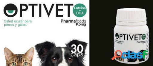 König Suplemento Alimenticio Optivet para Perros y Gatos