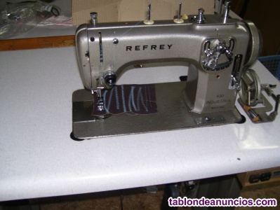 Maquina de coser refrey modelo 430