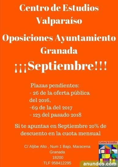 Oposiciones ayuntamiento de granada - Maracena