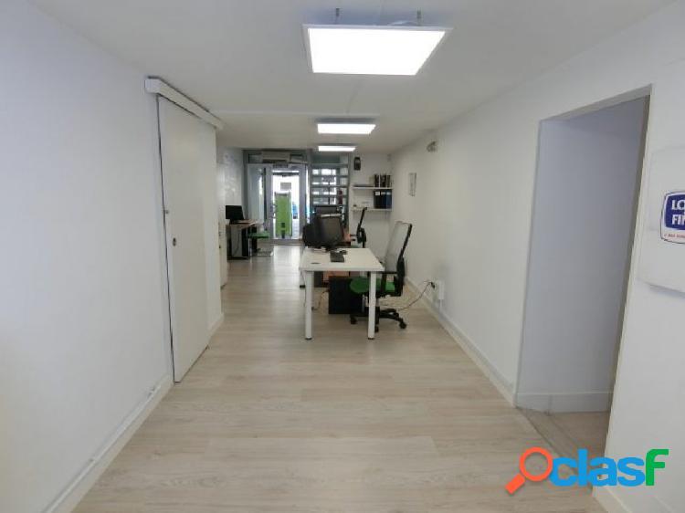 Se alquila local de 54 m2 en dos plantas calle Orense